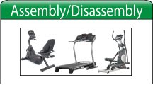 treadmill assembly